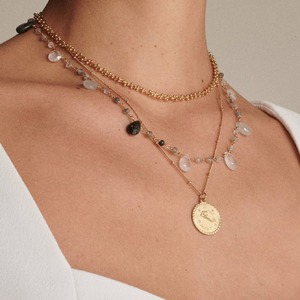 NECKLACE ASTRO BILLE - Lou yetu