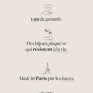 BRACELET CHARLINE - Lou yetu